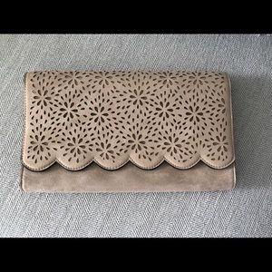 Aldo Bags - Large tan coloured crossbody / clutch .